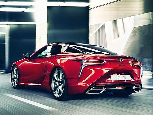Как создавали новое купе премиум-класса Lexus LC - Lexus
