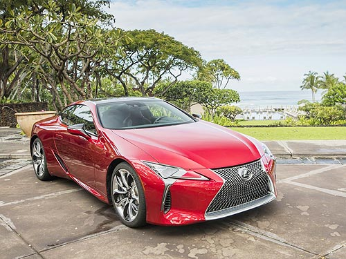 Новый Lexus LC представили на Гавайах - Lexus