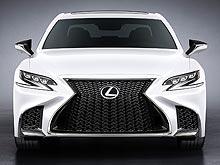 Официальные подробности о новом Lexus LS F Sport