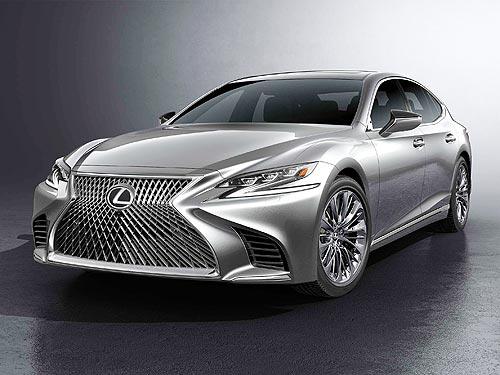 В Украине открыт прием заказов на новый флагманский седан Lexus LS - Lexus