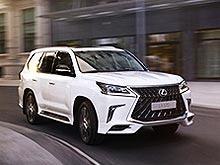 В Украине принимают заказы на новую версию Lexus LX Sport - Lexus