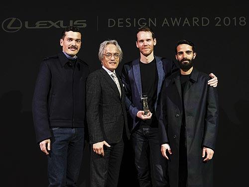 Определен победитель премии Lexus Design Award 2018 - Lexus