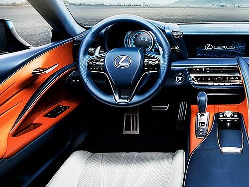 В Украине представлен эксклюзивный Lexus LC 500h в уникальном цвете - Lexus