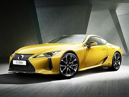 Lexus представит эксклюзивную версию LC Sport+ Yellow Edition
