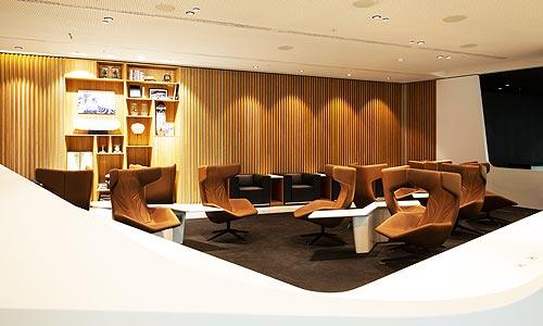 Lexus открыл лаунж-зону в аэропорту Брюсселя - Lexus