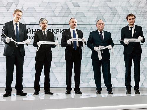 Во Львове открылся обновленный согласно новой концепции дилерский центр Lexus - Lexus