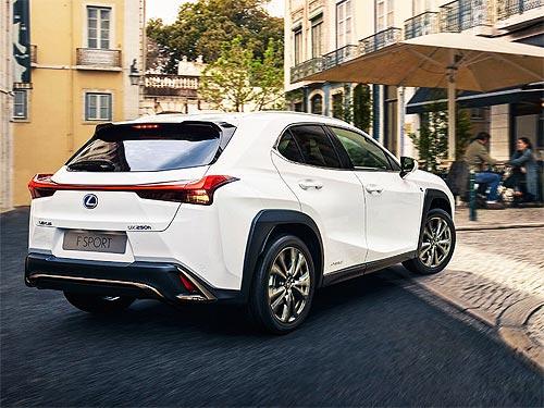 Lexus UX получил 5 звезд по безопасности EuroNCAP - Lexus