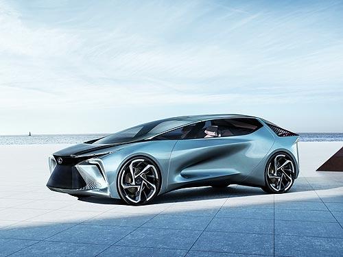 Lexus представил революционный концепт электрокара LF-30 Electrified