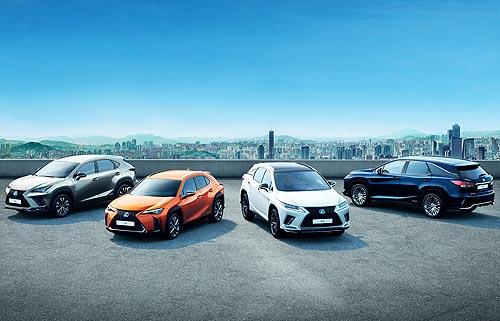Продажи кроссоверов Lexus в Европе превысили полмиллиона авто