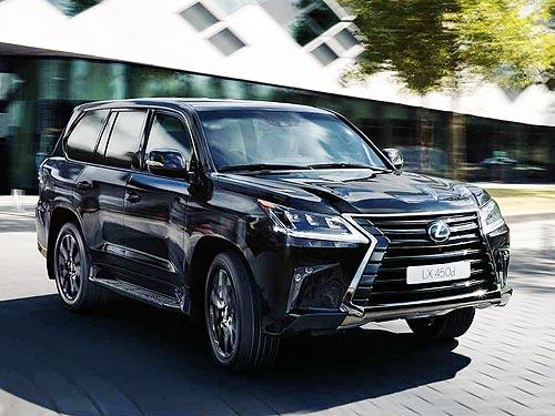 В Украине возобновили прием заказов на дизельный Lexus LX 450d