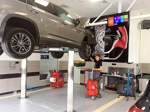 Lexus открыл в Украине два новых авторизированных сервисных центра - Lexus