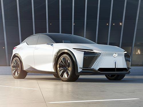 Lexus представлет электрический концепт-кар LF-Z Electrified