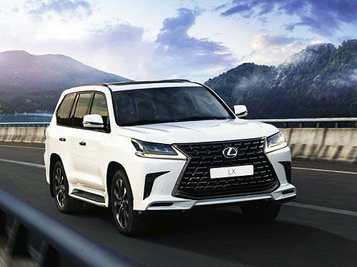 В Украине стартуют продажи Lexus LX 570 в новых комплектациях Samurai и Samurai+