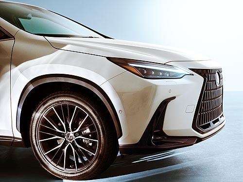 Lexus представил новый кроссовер Lexus NX - Lexus