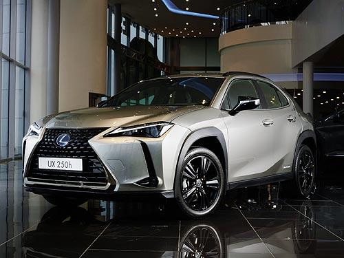 В Украине стартовали продажи компактного гибридного кроссовера Lexus UX250h в новой комплектации Ninja