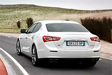 Новые спортседаны Maserati Ghibli будут ездить на шинах Continental