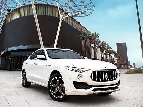 Скидки на Maserati Levante достигают 12% или 363 750 грн. - Maserati