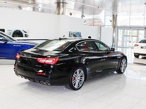 В Украине появился обновленный Maserati Quattroporte 2017 года в версии GranSport - Maserati