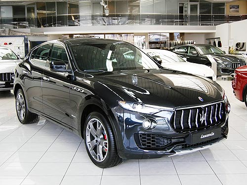 На Maserati Levante 2018 года действуют акционные цены