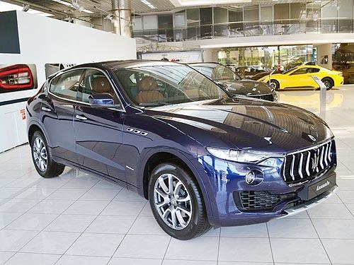 На Maserati Levante 2018 года действуют акционные цены - Maserati