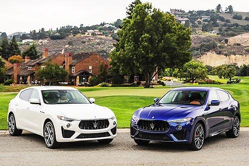 Тест-драйв Maserati Levante Trofeo: Что будет, если разгневать Нептуна?