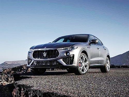 В Украине появился эксклюзивный Maserati Levante