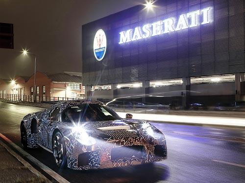 Что скрывает новый камуфлированный Maserati, который замечен на улицах Модены