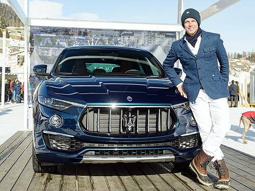 Maserati представила новую спецсерию Levante Royale