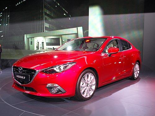 Новинки Франкфурта: Mazda3