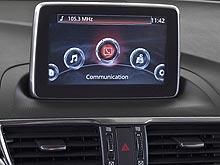 В новой Mazda3 доступна революционная система MZD Connect