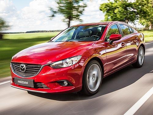 Не смотря на спад рынка, Mazda увеличила продажи в Украине