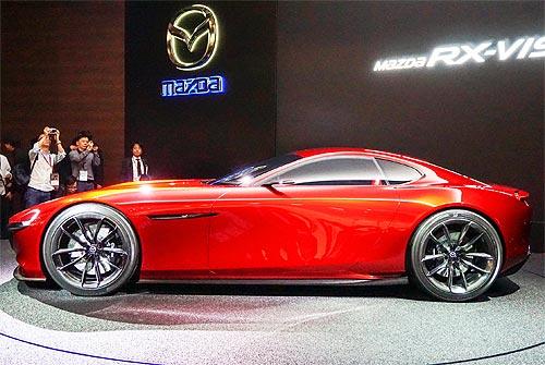 Mazda обновит концепт-кар RX-Vision - Mazda