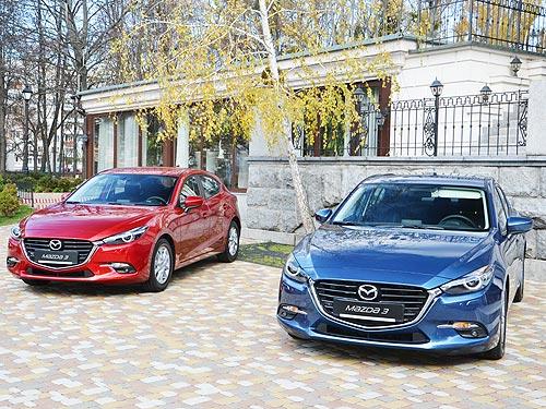 В сентябре покупатели Mazda3 и Mazda6 экономят до 50 000 грн. - Mazda