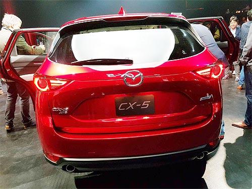 В Лос-Анжелесе представили новое поколение Mazda CX-5 - Mazda