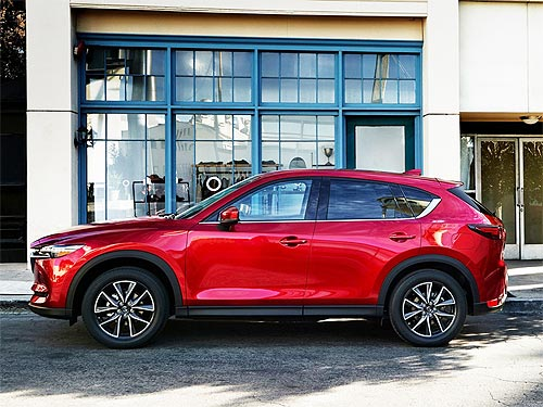 Какие новации получила Mazda CX-5