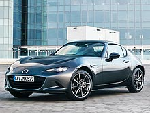 Mazda MX-5 RF удостоена награды «Лучший из лучших» за дизайн - Mazda
