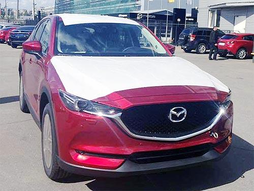 Новое поколение Mazda CX-5 уже засветилось в Украине