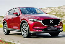 В Украине объявлены цены на на новую Mazda CX-5