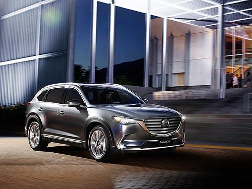 В Украине объявлены цены и стартовал прием заказов на новое поколение Mazda СХ-9 - Mazda