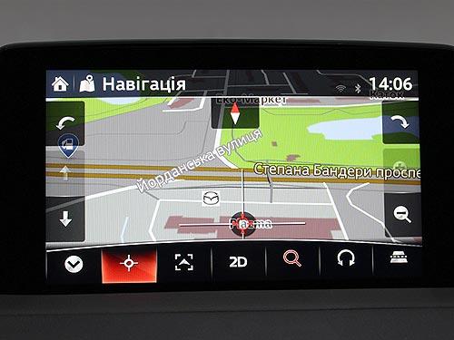 Навигация и меню в Mazda теперь на украинском языке - Mazda