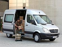 В 2012 году в Украину начнутся поставки Mercedes-Benz Sprinter с расширенной электронной системой стабилизации ESP - Mercedes-Benz