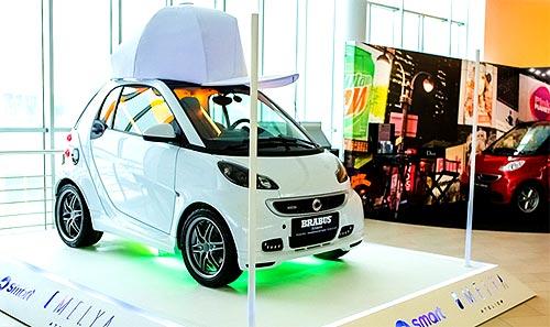 smart принял участие в неделе моды Mercedes-Benz Kiev Fashion Days - smart
