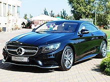 ����� Mercedes-Benz S-Coupe: ������ ������ �������� Swarovski