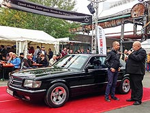 Автомобиль из Украины стал «звездой» на немецком конкурсе Mercedes-Benz - Mercedes-Benz