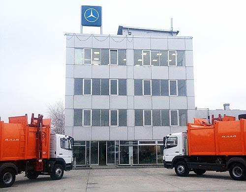 В Украине представили коммунальные Mercedes-Benz Atego с кузовом украинского производства - Mercedes-Benz