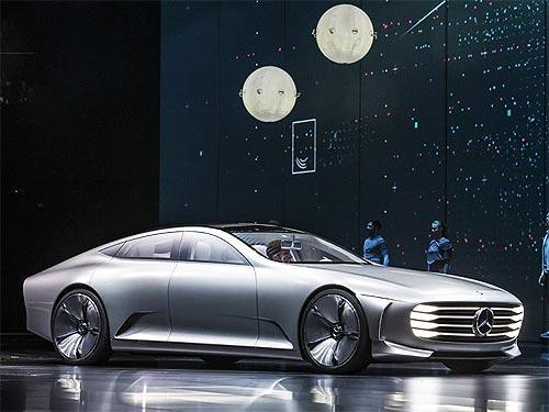 Mercedes-Benz представил будущее моделей люкс-класса - Mercedes-Benz