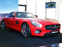 В Украине представили спорткар Mercedes-Benz AMG GT S - Mercedes-Benz