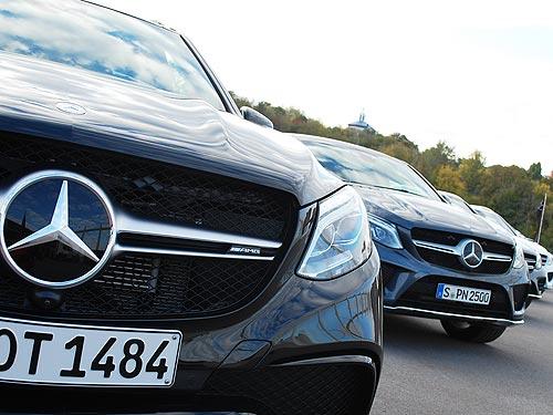 На что способен Mercedes-Benz в исполнении AMG. Видео - Mercedes-Benz