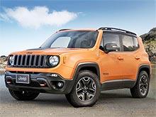 На Jeep Renegade стартовала выгодная кредитная программа по ставке от 0,001%* годовых - Jeep