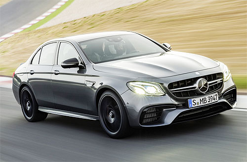 Mercedes-Benz E63 AMG будет разгоняться до 100 км/ч за 3,4 с - Mercedes-Benz